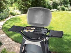 Une plancha pour barbecue Weber